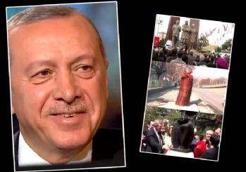 Erdoğan CHP'li belediyeleri tiye alan 1 Nisan videosunu paylaştı