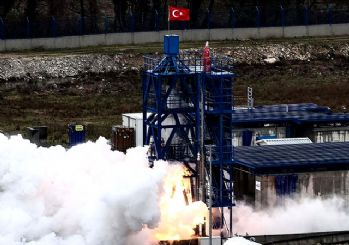 Ay'a gidecek yerli roket ilk sınavı geçti