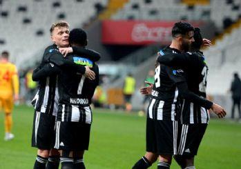Beşiktaş'ın zirve uçuşu devam ediyor! 3-1