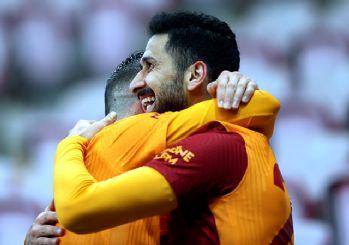 Galatasaray, 87'de zirveye tutundu! 1-0