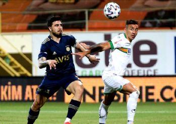Fenerbahçe'ye şampiyonluk yolunda Alanya çelmesi! 0-0
