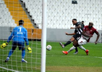 Beşiktaş, Hatayspor'a 7 attı