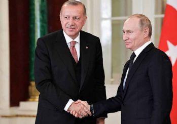 Erdoğan Putin ile İsrail saldırılarını görüştü