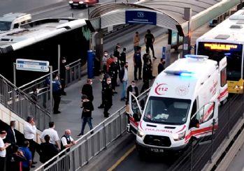 Metrobüste rehine krizi: Gözaltına alındı