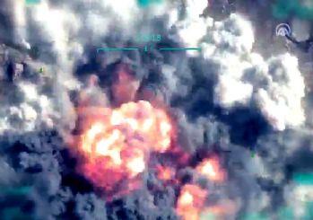 PKK'nın üst düzey teröristi 'Sofi Nurettin'in mağarada vurulma anına ait görüntüler paylaşıldı