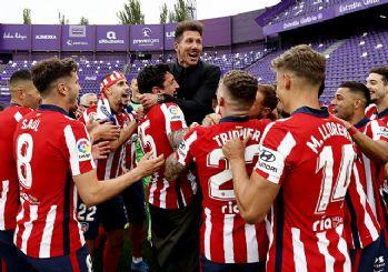 La Liga'da şampiyon Atletico Madrid oldu
