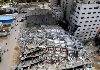 Google haritalar gizlemişti! İsrail'in Gazze'deki yıkımı havadan görüntülendi