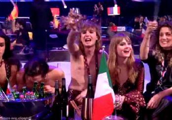 Eurovision'da uyuşturucu skandalı! Kameraya yakalandı