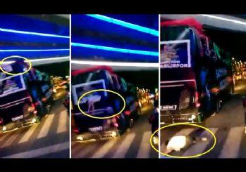 Kocaelispor şampiyonluk turunda bir futbolcu otobüsten düştü