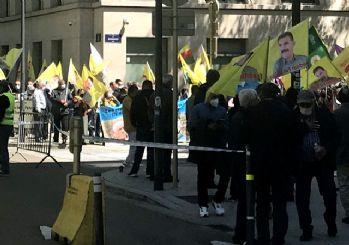 Brüksel'de terör örgütü PKK gösterisi
