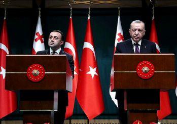 Erdoğan: Türkiye-Azerbaycan-Gürcistan iş birliğine varız