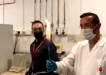 Amasra-1'deki doğalgaz enerjiye dönüştü! İlk alev yakıldı