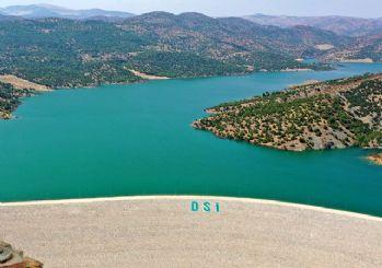 Kilis'teki Yukarı Afrin Barajı açıldı