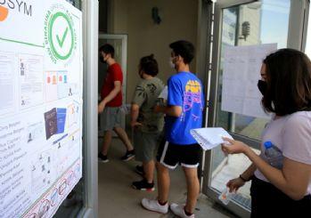 Üniversite adaylarının YKS maratonu başladı