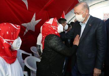 Erdoğan'dan Diyarbakır Anneleri'ne ziyaret