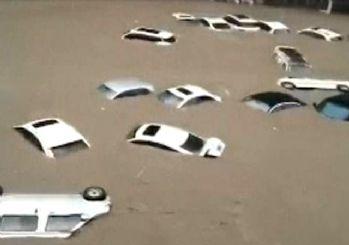 Çin'de sel felaketi! Bin yılın en şiddetli yağmuru
