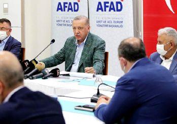 Erdoğan: Ormanlarımızı yakanları bulmak boynumuzun borcu