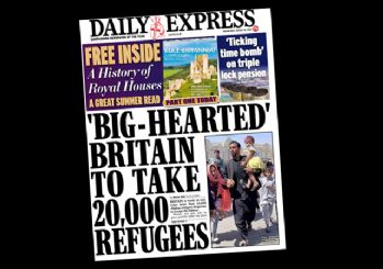 İngilizler 20 bin mülteci için hava atıyor!