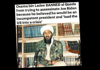 Usame bin Ladin'in Joe Biden kehaneti: ABD'yi krize sokacak!