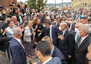 Erdoğan'a Bosna Hersek'te sevgi seli