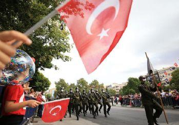 30 Ağustos Zafer Bayramı kutlanıyor