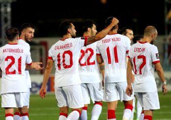 A Milli Takım'dan Cebelitarık'a gol yağmuru! 3-0