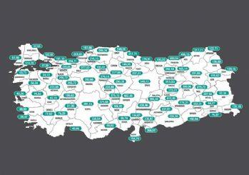 İllere göre haftalık vaka haritası! Vaka sayısı en çok artan iller açıklandı