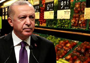 Fahiş fiyat operasyonu geliyor! Erdoğan: 5 zincir market piyasayı alt üst ediyor
