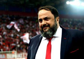Olympiakos'un sahibinden skandal sözler: Kendi şehrimizde kazandık!