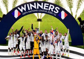 Uluslar Ligi'nde şampiyon Fransa!
