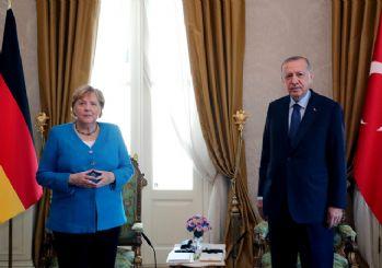 Merkel'in 'koalisyon' sözlerine Erdoğan'dan gülümseten cevap: Bana şikayet ediyordun