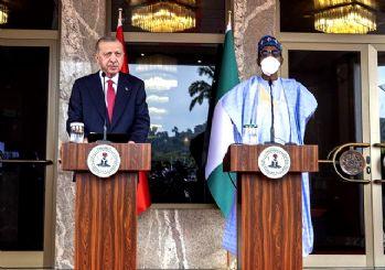Erdoğan duyurdu: Nijerya'da 7 anlaşmaya imza attık!