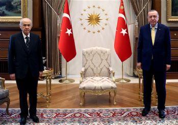 Beştepe'de sürpriz zirve! Erdoğan ile MHP lideri Bahçeli görüştü