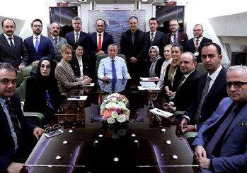 Erdoğan'dan 10 büyükelçi açıklaması: Kitabımda geri adım atmak yok