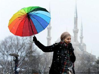 Kar İstanbul'da bir başka güzel !