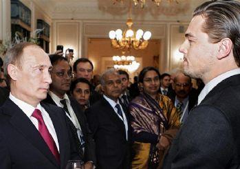 Kendisini Oscar heyecanı saran Leo DiCaprio Putin'i canlandıracak