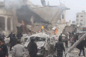 Rus uçakları sivilleri vurdu: 10 ölü