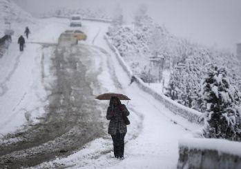 Başkent böyle kış görmedi!