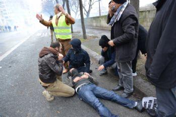 Fransa polisinden PKK yandaşlarına müdahale: 17 gözaltı
