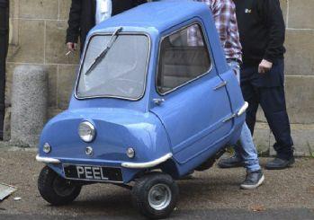 İşte dünyanın en küçük arabası