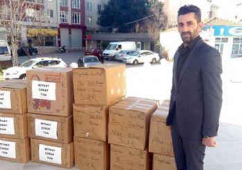 Kürt işadamından Sur'daki polislere yardım