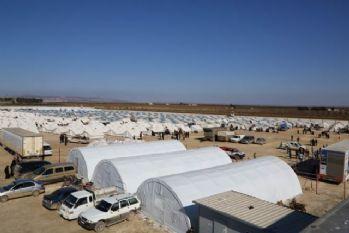 Suriye'de çadır kent oluşturuluyor