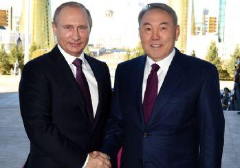 Kazak Lider Nazarbayev, Putin ile Türkiye'yi görüştü