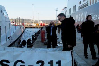 Çek Bakan sığınmacılar için Çeşme'de
