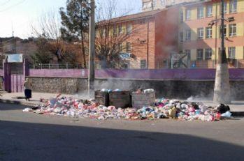 Diyarbakır 'çöp kent'e büründü