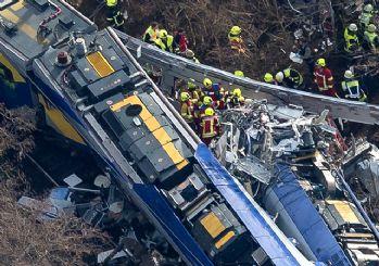 Almanya'daki tren kazasında Türklerde varmış!