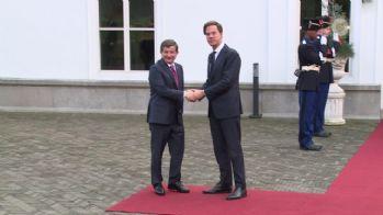 Hollandalı mevkidaşıyla görüştü