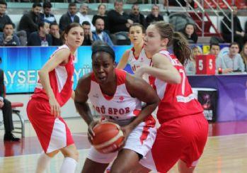 AGÜ Spor, Polonya ekibine mağlup oldu