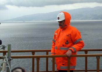 Binali Yıldırım Gebze-Orhangazi-İzmir otoyolunu inceledi