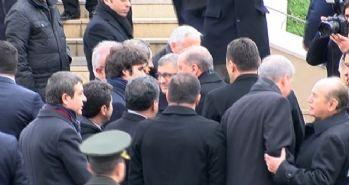 Törene Erdoğan ve Davutoğlu da katıldı